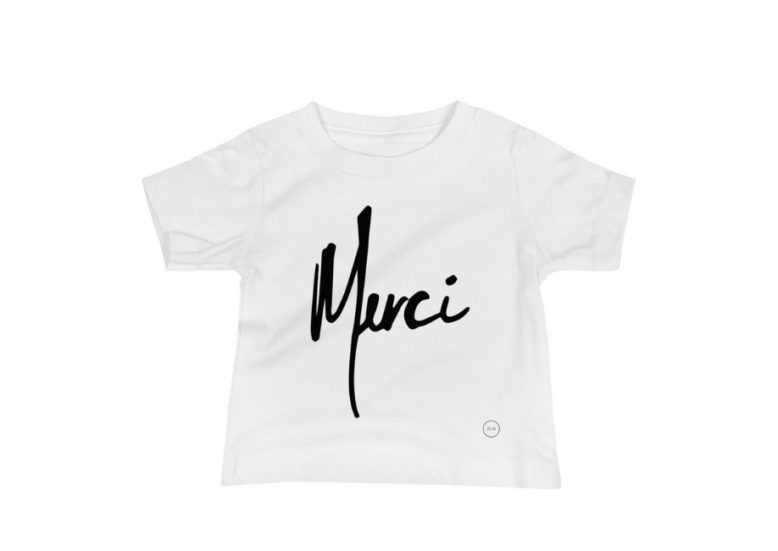 Merci Infant Tee (All Colors) • Feeds 25 Children