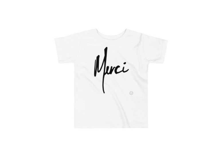 Merci Toddler Tee • 2 - 5 Years • (All Colors) • Feeds 25 Children